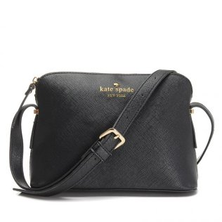 Kate Spade Black Leather